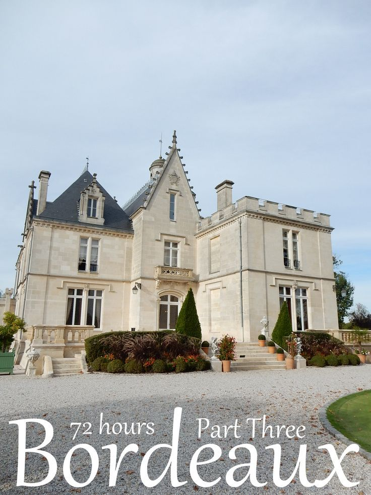 A luxury French Chateau stay in Bordeaux Vineyards - Chateau Pape Clement.