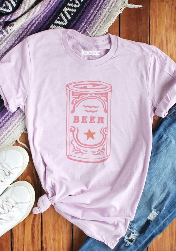 Craft Beer Tee / womens graphic tees / vintage style lover gift shirt / 60s 70s tshirt women / gifts flight drinking shirts tees
