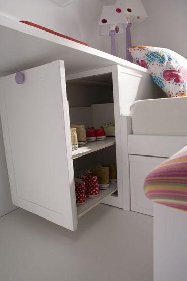 HABITACIONES INFANTILES - Trucos para guardar cositas y aprovechar el máximo espacio en las habitaciones de tus hijos :)