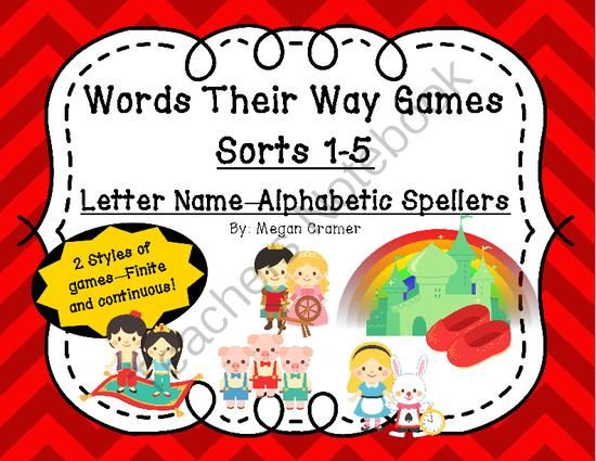 Letter Name And Picture Sorts