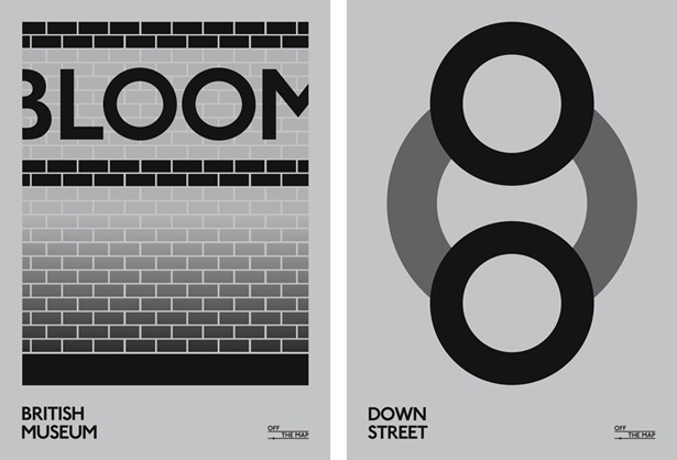 Posters For Disused Tube Stations - Design - ShortList Magazine