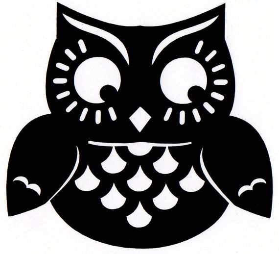 halloween owl print  We love owls, especially at Halloween   www.littlecrate.com.au silhouette cameo projects #DIY #silhouette