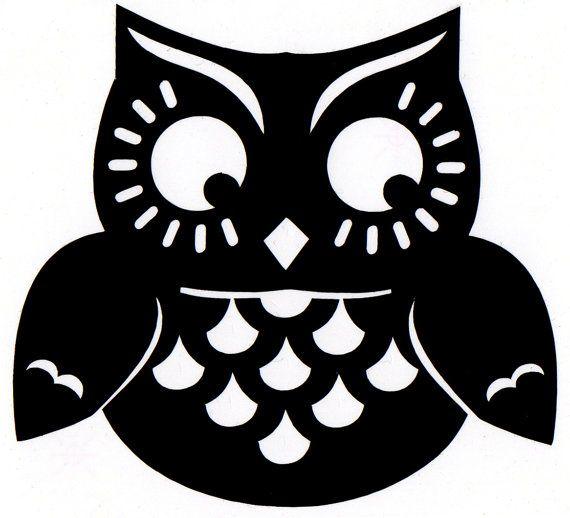 cute owl silhouette