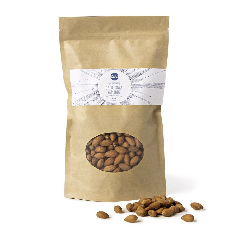 Moon Juice Raw & Activated California Almonds