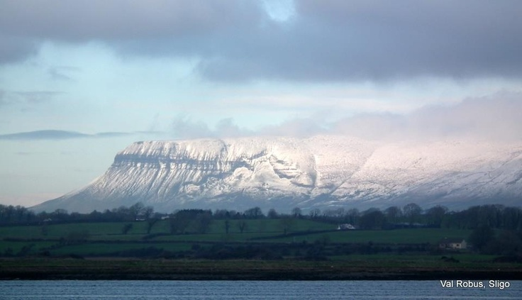 Val Robus's iconic photograph of Ben Bulben,Sligo.