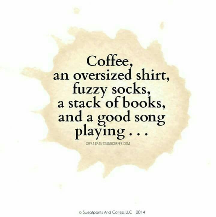 Coffee, books, Awwww!