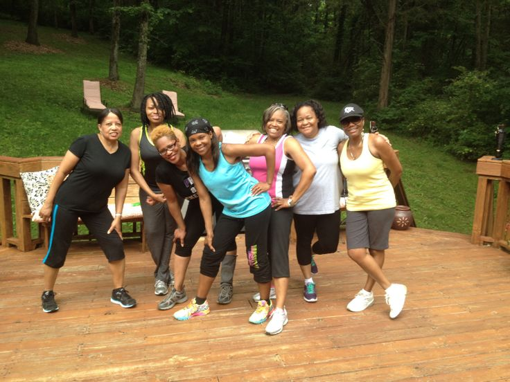 Zumba class during the 50th Outdoor Birthday Celebration!!!! Rejuvenating!