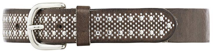 11188 jeans belt, 3 cm, taupe.