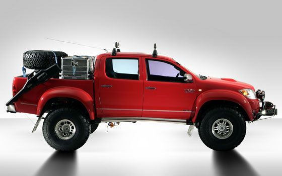 Toyota Hilux Top Gear Polar Special