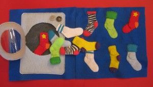 Really cool quiet book pages.: Matching Quiet, Matching Socks, Book Ideas, Quiet Book, Quietbook, Business Book, Book Pages, Felt Book, Socks Matching