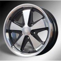 """17"""" Fuchs Wheels for VW Bug Bus Karmann & Porsche 911 Jantes Fuchs 17 pouces pour VW Cox Combi Karmann et Porsche 911"""