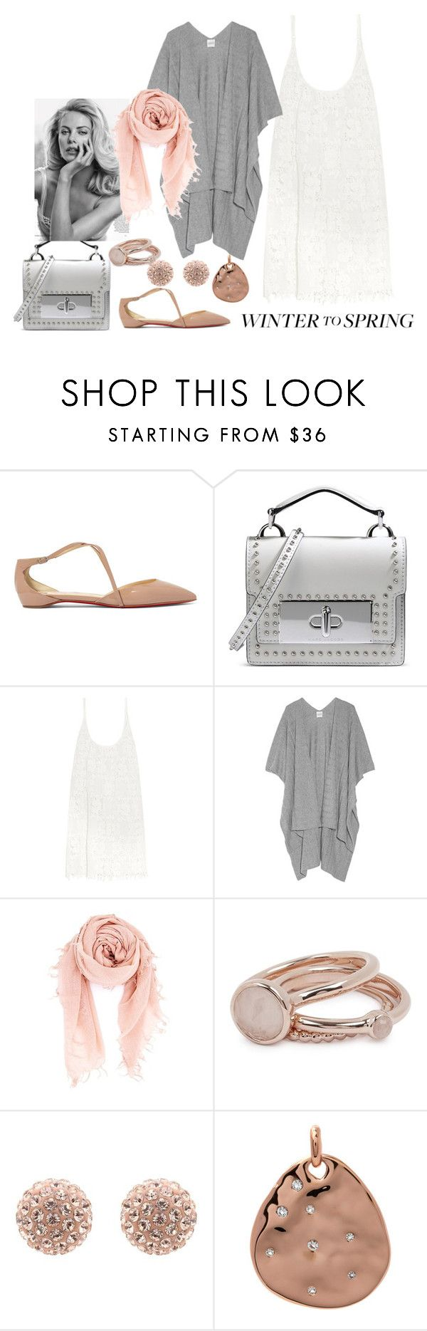 """Keep it Cool"" by anandiek ❤ liked on Polyvore featuring Christian Louboutin, Marc Jacobs, Melissa Odabash, Madeleine Thompson, Chan Luu, Lola Rose and Monica Vinader"