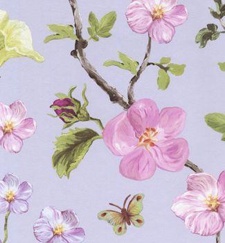 Eijffinger Un Bisou 310033  Butterflies and Flowers