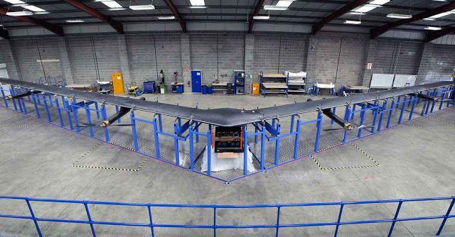 Drone Laser Facebook Ingin Menandingi Drone Balon Google