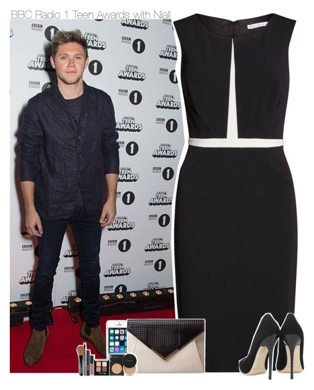 """""""BBC Radio 1 Teen Awards with Niall"""" by perfectharry ❤ liked on Polyvore featuring Gina Bacconi, Jimmy Choo and FingerPrint Jewellry"""