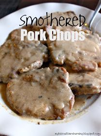 My Biscuits are Burning: Smothered Pork Chops