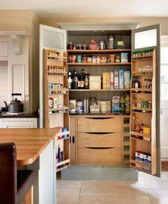 Very clever kitchen storage