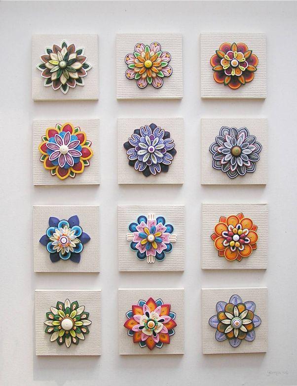 Quilled designs