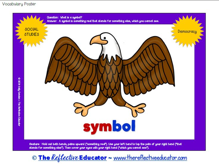 14 Best Social Studies Us Symbols Images On Pinterest National