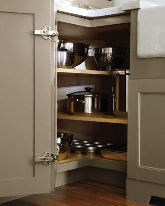 """See the """"Corner Cabinet: Martha Stewart Living Ox Hill Kitchen"""" in our Martha Stewart Living Kitchen Designs from The Home Depot gallery"""