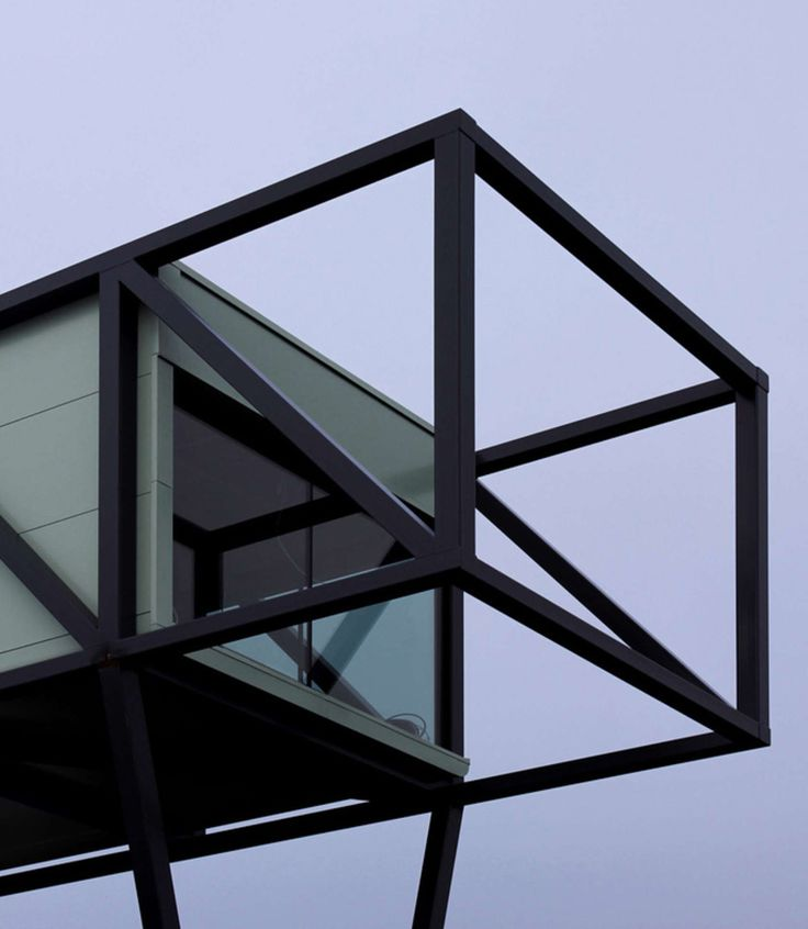 This company wanted to show off their skills in steel construction, so they built this...