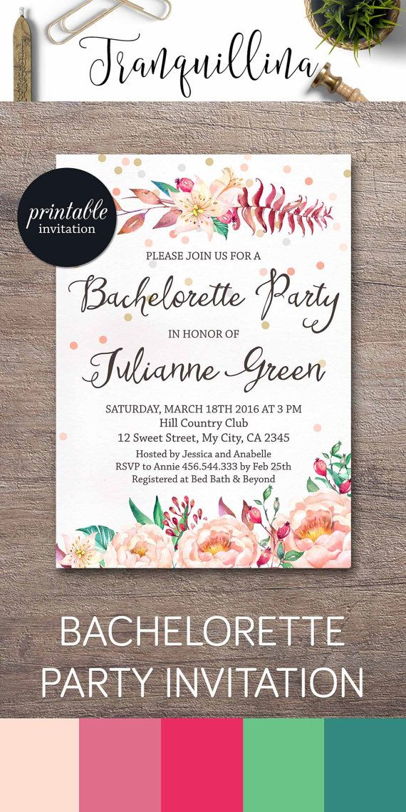 606 best Wedding Invitations, Bridal Shower Party Invitations ...