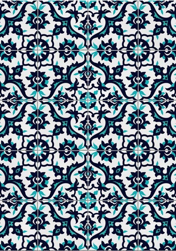 Adesivo tipo azulejo Kit com 20 adesivos