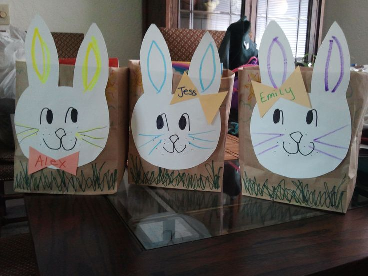 40 best decorated brown bags images on pinterest brown bags the teen advisory group has been asked to make paper bag easter baskets make a bunny head out of tagboard then staple to a folded down lunch sack negle Gallery
