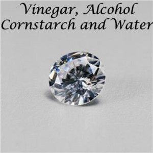 battle of the homemade glass cleaner    winner:  1/4 c. rubbing alcohol  1/4 c. white vinegar  1 Tbsp cornstarch  2 c. warm water