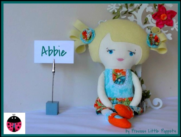 #ladybird2turtle  $45 Handmade Doll #Ladybird2Turtle - Abbie  www.facebook.com/preciouslittlepoppets