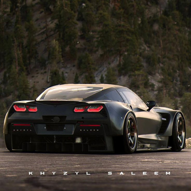 Widebody Corvette; total gangsters! | Auto-Crazed: GM ...