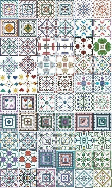 Random sampler blocks.