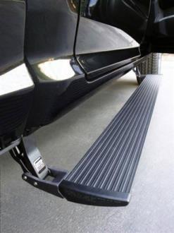 AMP-Research - PowerStep Running Boards - Fits 2009 to 2016 Ram 1500 Regular Cab/Quad Cab/Crew Cab - 4WheelParts.com