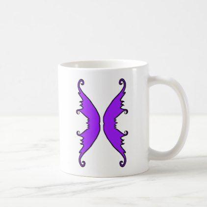 #Fairy Wings Purple Coffee Mug - #drinkware #cool #special
