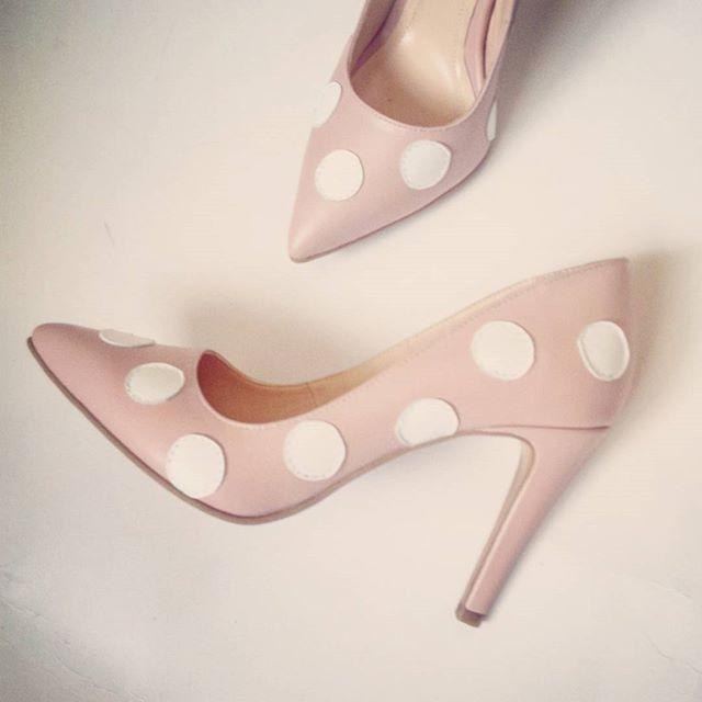 Pantofi Stiletto Expression Dots (Queen Collection)