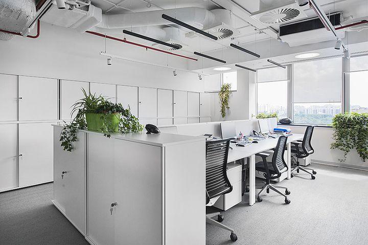 обои картинка белый офис компактные