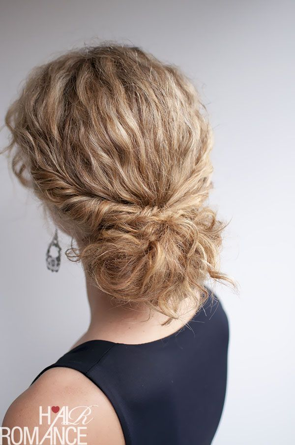 Hairstyles For Curly Hair Tied Up : Best 25 easy curly hairstyles ideas on pinterest hairstyles