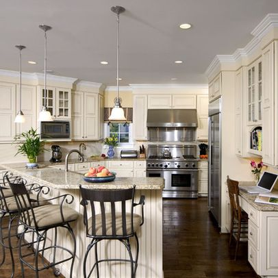 17 best images about cream white kitchen on pinterest traditional american kitchen and islands - Cream white kitchen cabinets ...