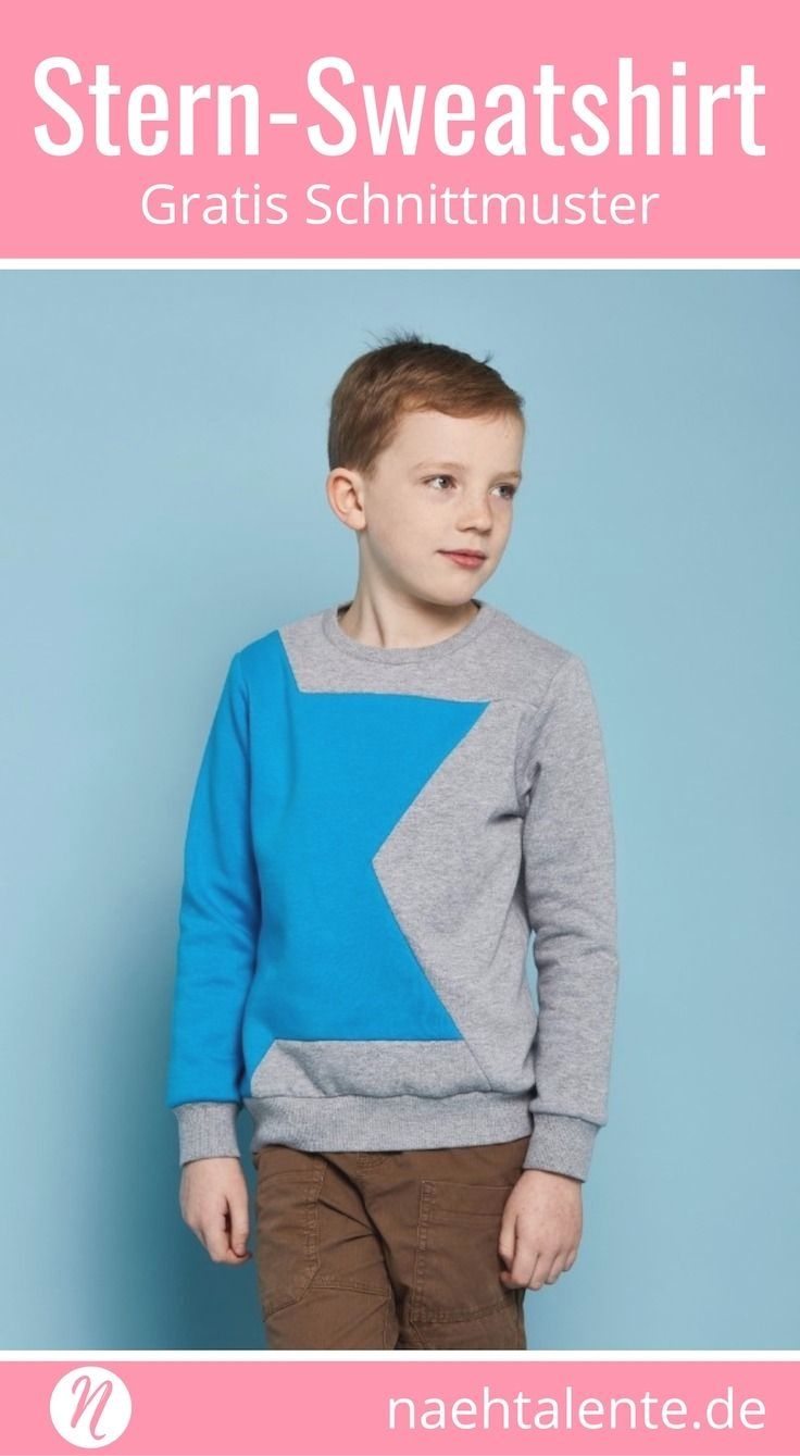 Pulli kostenlose schnittmuster kinder Basic