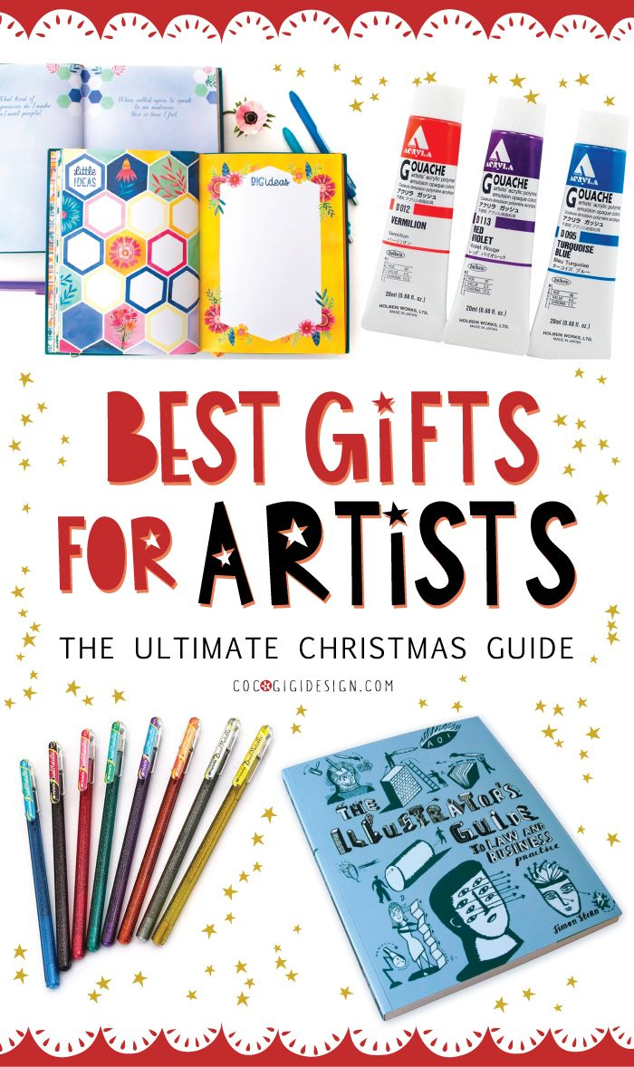 Best Gifts For Artists The Ultimate Christmas Guide Gifts For An Artist Ultimate Christmas Gift Guide Kids Gift Guide