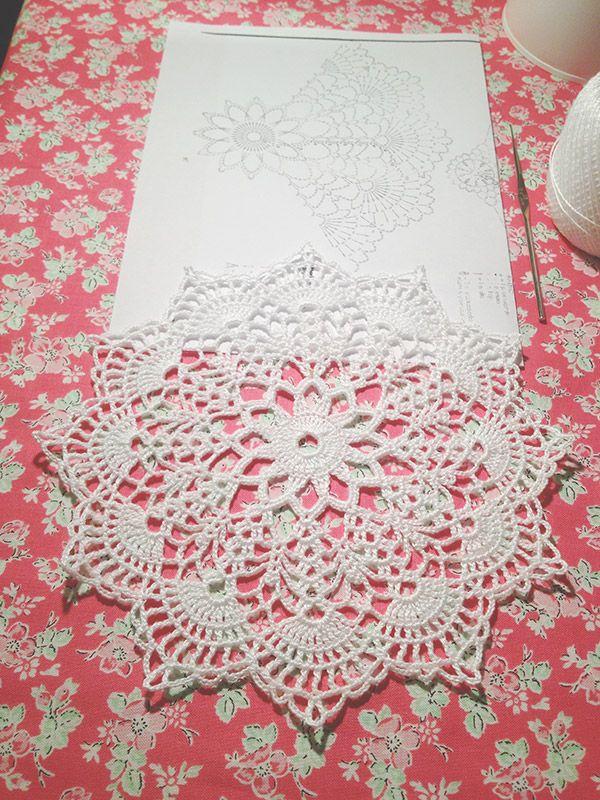 Anabelia craft design: Tapete paso a paso