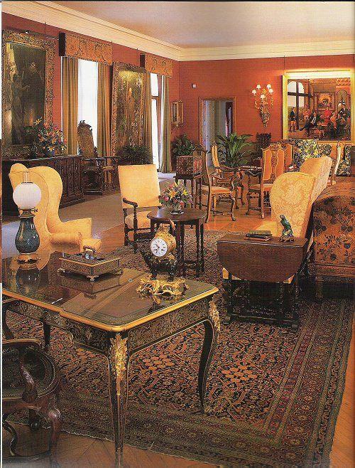 Biltmore house 2nd floor living hall biltmore mansion - 2 bedroom suites in asheville nc ...