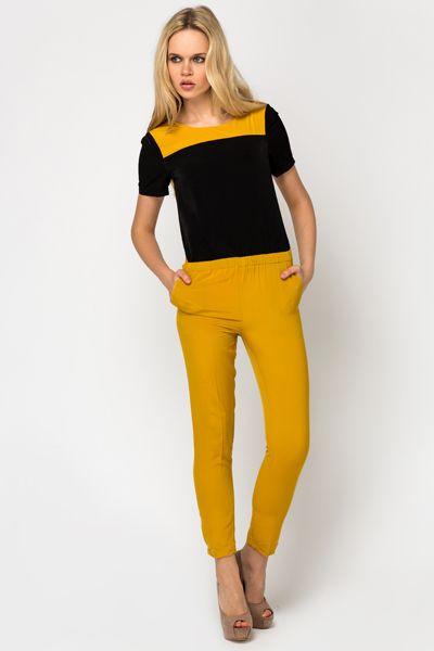 Colour Block Jumpsuit