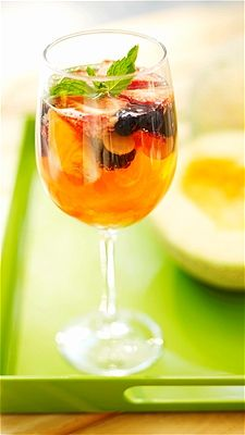 unique for guests you can create a 'build your own sangria' element to the bar by providing garnishes for guests to add to their drink such as sliced oranges or apples and even have additional mixers such as ginger ale or prosecco to create a Sangria Spritzer!