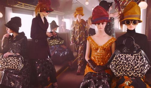 Louis Vuitton F/W 2012 campaign: Louisvuitton, Louis Vuitton, Steven Meisel, Ads Campaigns, Fall 2012, Stevenmeisel, Fashion Ads, Fall Winter, Vuitton Fall