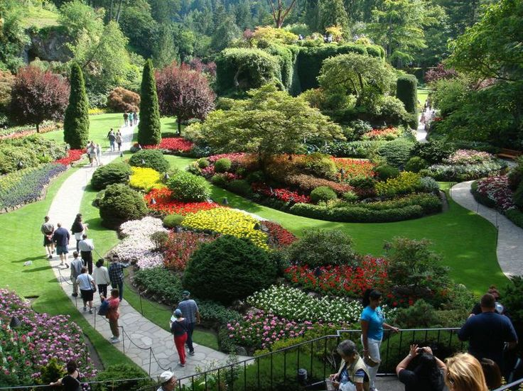 1000 images about favorite places spaces on pinterest - Butchart gardens tour from victoria ...