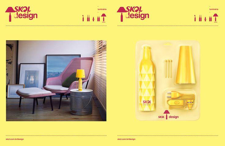 Skol lança garrafas que se transformam em objetos de decoração - Comunicadores.info