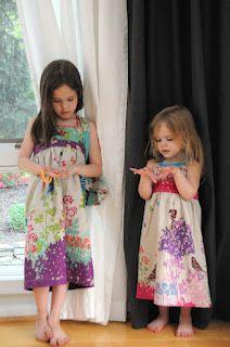 Kids dress pattern- looks simple enough