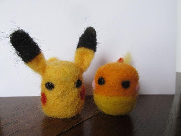Needle felted Pokemon