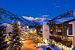 The Lodge at Vail. An enchanting christmas experience by day or night.